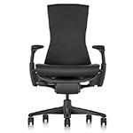 black graphite herman miller embody chair