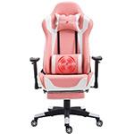 nokaxus light pink gaming chair
