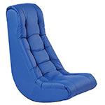 blue soft kids rocking chair